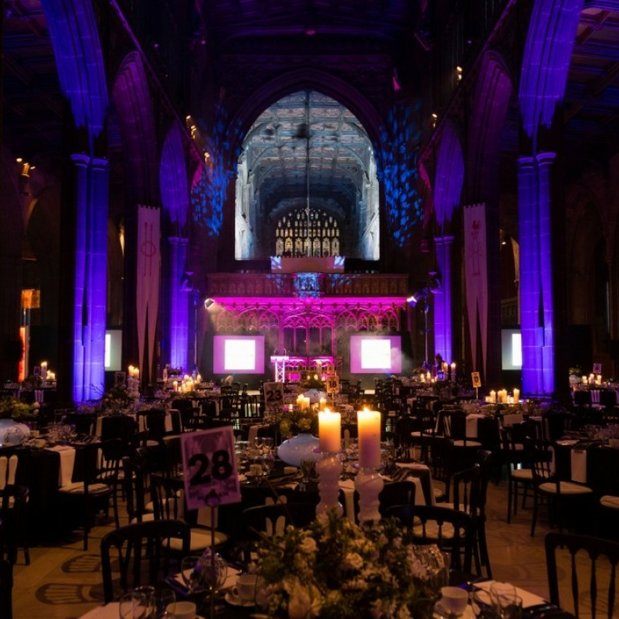 Mcr Cathedral Event Evening